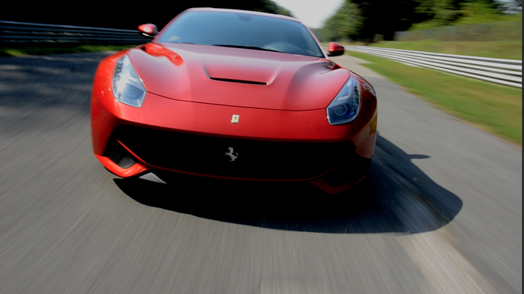 Geared Up For Ferrari Video Production